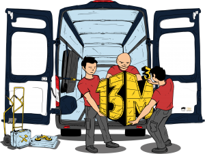 Heinsohn Transporte Ladehilfen