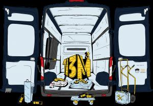 Heinsohn Transporte Ausstattung